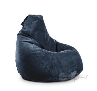 Кресло Груша Велюр Сапфир XL