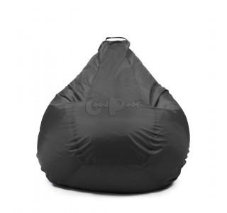 Кресло Груша Оксфорд Черный XL