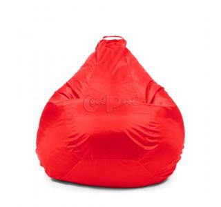Кресло Груша Оксфорд Красный XL