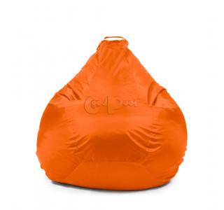 Кресло Груша Оксфорд Оранжевый XL