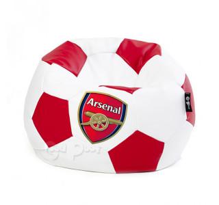 Кресло Мяч Экокожа Футбольный с Логотипом L