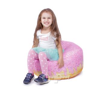 Бескаркасный Арт Пуф Пончик Донат