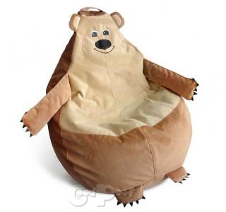 Детский Пуф Кресло Мешок Медведь