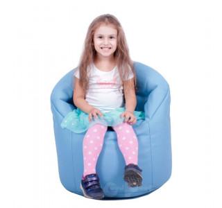 Детский Пуф Кресло Австралия Голубой