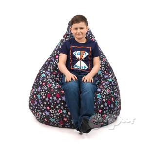 Детский Кресло Мешок Звезды XL