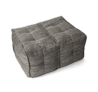 Бескаркасный Пуф Столик Мод Natural Grey