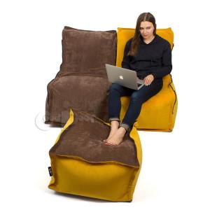 Комплект Деко 2 Кресла и Пуф