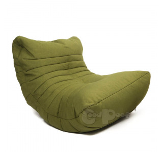 Бескаркасное Кресло Кокон Green Moss