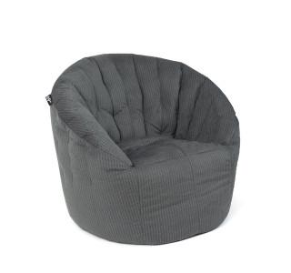 Бескаркасное Кресло Австралия Grey Fur