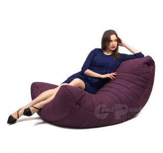 Бескаркасное Кресло Кокон Purple Plum
