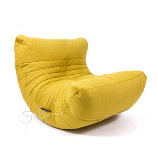 Бескаркасное Кресло Кокон Dijon Mustard