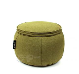 Бескаркасный Пуф Руббер Green Moss