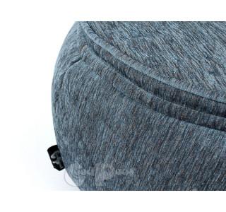 Бескаркасный Пуф Руббер Blue Jeans