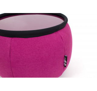 Бескаркасный Пуф Версус Electric Pink
