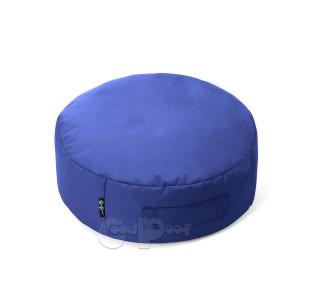 Бескаркасный Пуф Подушка Сидушка Blue Sapphire