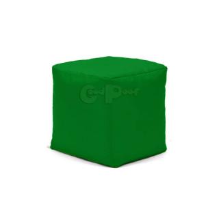 Бескаркасный Пуф Квадро Зеленый L
