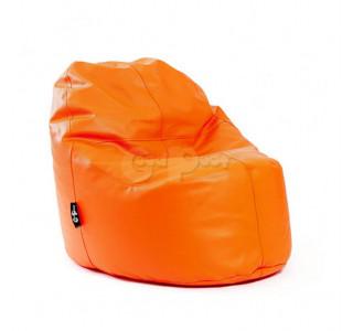 Бескаркасное Кресло Лаунж Экокожа Orange