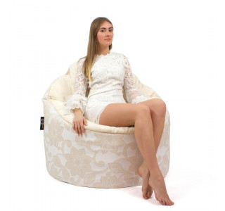Бескаркасное Кресло Пенек Lace