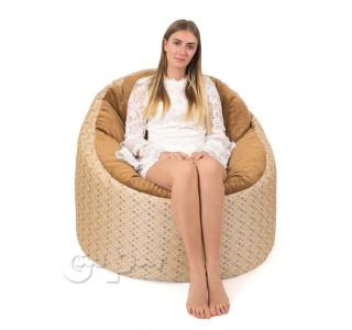 Бескаркасное Кресло Пенек Rhomb