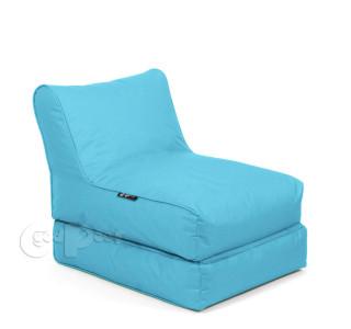 Бескаркасный Шезлонг Трансформер Blue Topaz