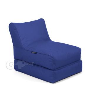 Бескаркасный Шезлонг Трансформер Blue Sapphire